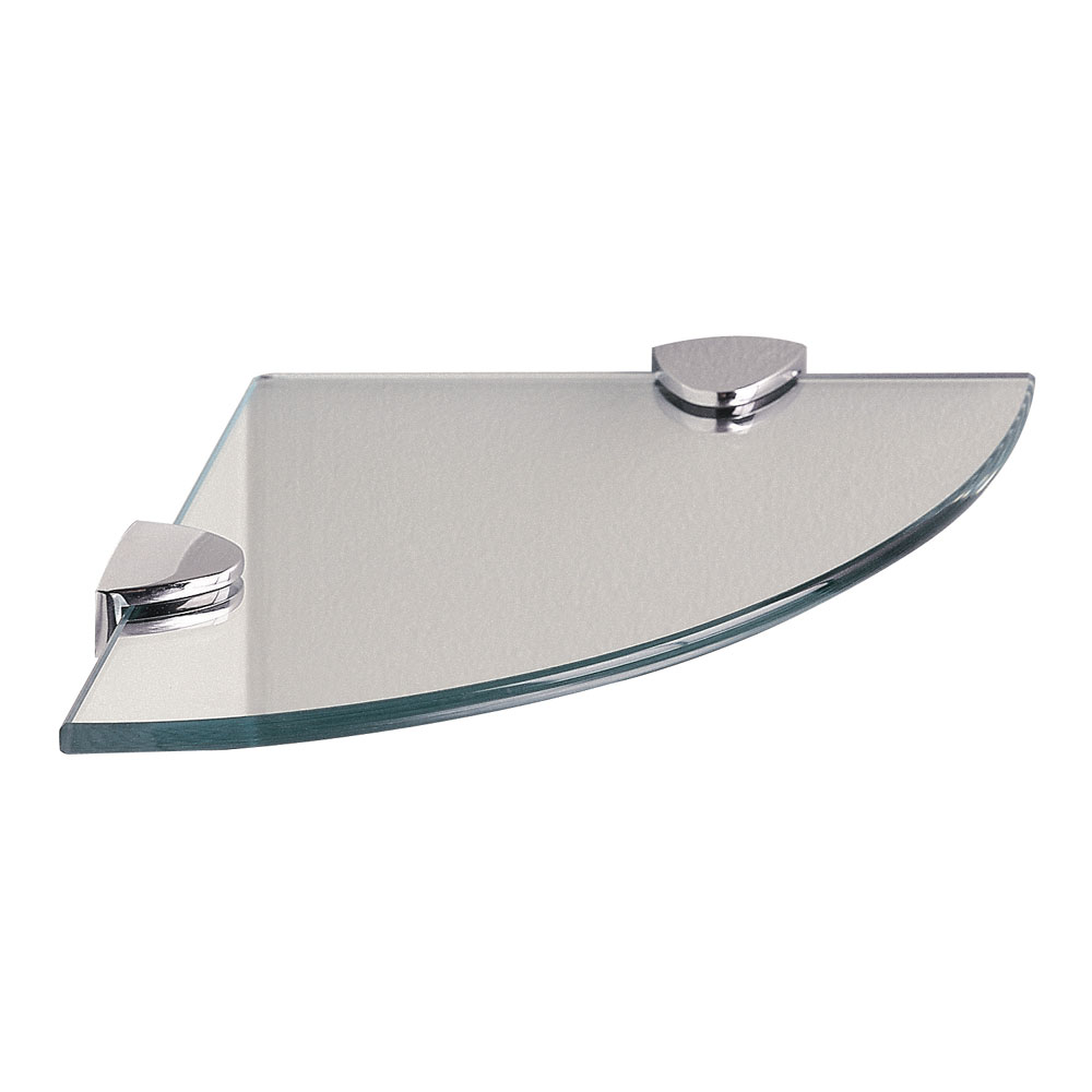 Miller - Classic Corner Glass Shelf - 292320 Large Image