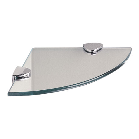 Miller - Classic Corner Glass Shelf - 292320
