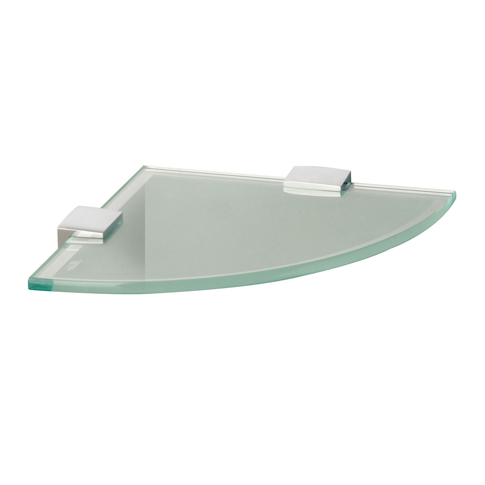 Miller - Classic Glass Corner Shelf - 292321 profile large image view 1