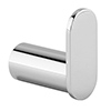 Bosa Chrome Robe Hook profile small image view 1