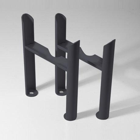 Keswick Anthracite 2 Column Radiator Feet