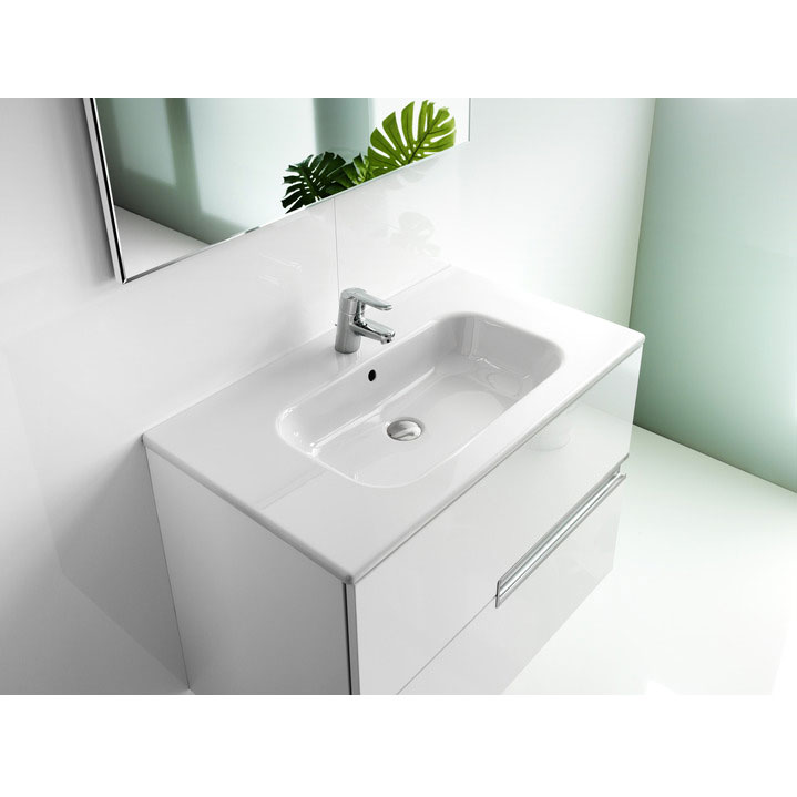 Roca - Victoria-N Unik 2 Drawer Vanity Unit with 800mm Basin - 4 x Colour Options profile large image view 2