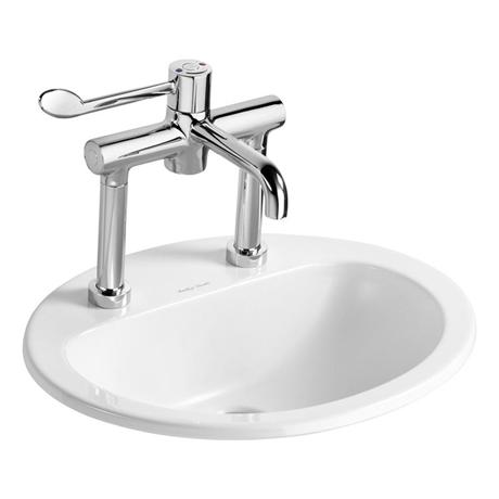 Armitage Shanks - Orbit21 55cm Countertop basin - 2TH No Overflow or Chainhole - S248901
