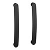 2 x Brooklyn Matt Black Additional Bar Handles - L210mm (196mm Centres) profile small image view 1