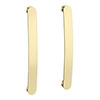 2 x Brooklyn Brushed Brass Additional Bar Handles - L210mm (196mm Centres) profile small image view 1