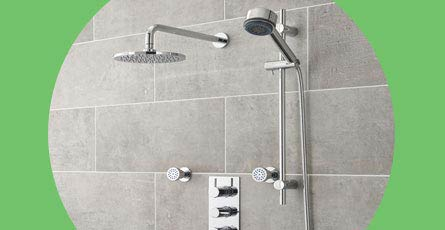 3 Outlets Shower Systems