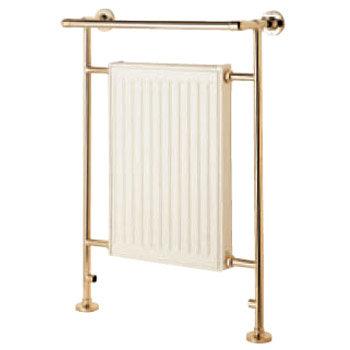 Mere Kinsdale Traditional Radiator/Towel Rail - Gold - 30-5024 Large Image