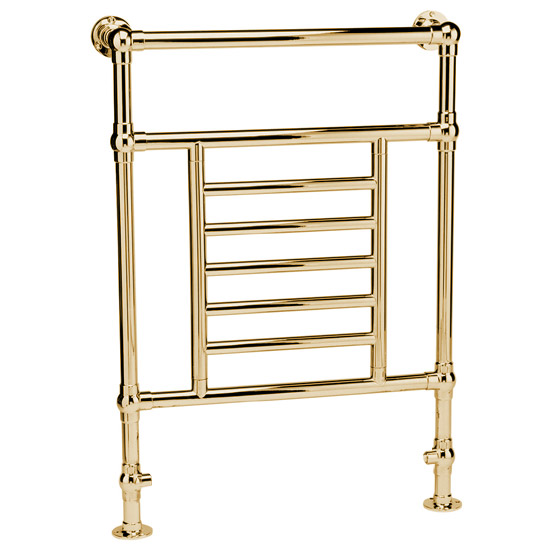 Mere Ramillies Traditional Towel Rail - Gold - 30-6034 Large Image