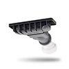 JT Evolved Shower Waste - Astro Black - EW016 profile small image view 1