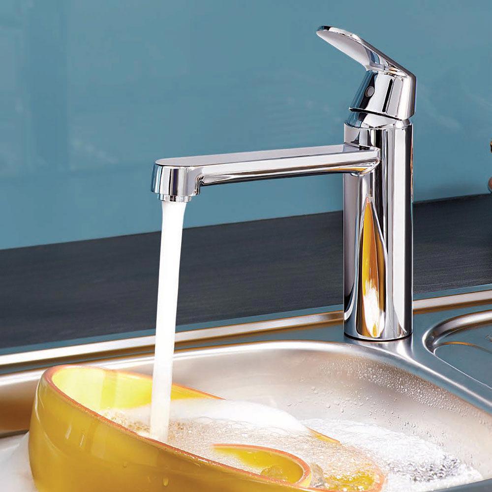 Grohe Eurosmart Cosmopolitan Kitchen Sink Mixer - Chrome - 30193000  Profile Large Image
