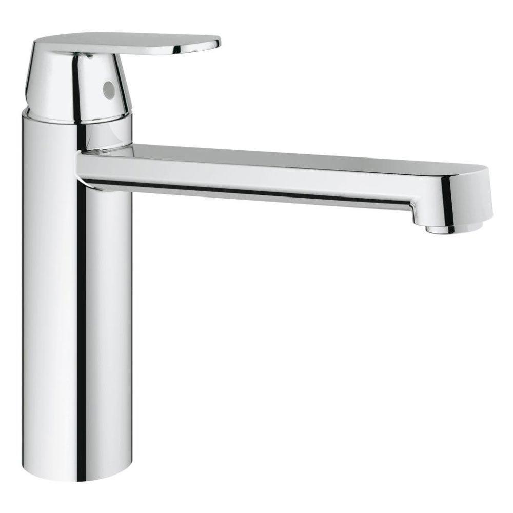 Grohe Eurosmart Cosmopolitan Kitchen Sink Mixer - Chrome - 30193000 Large Image