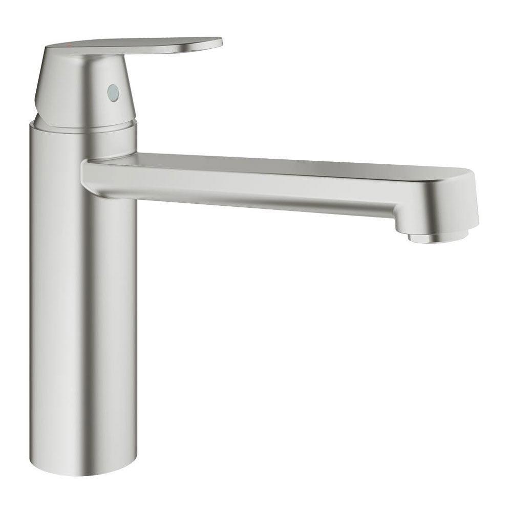 Grohe Eurosmart Cosmopolitan Kitchen Sink Mixer - SuperSteel - 30193DC0 Large Image