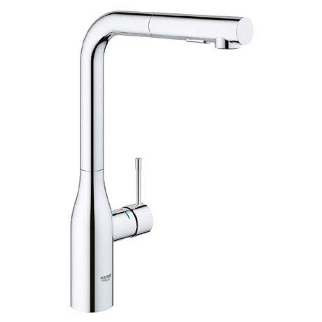 Grohe Essence Footcontrol Electronic Kitchen Sink Mixer with Pull Out Spray - Chrome - 30311000