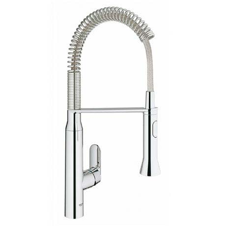 Grohe K7 Footcontrol Electronic Kitchen Sink Mixer with Professional Spray - Chrome - 30312000