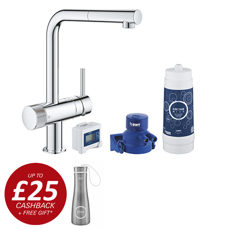 Grohe Blue Pure Minta Filtered Tap - Chrome - 30382000