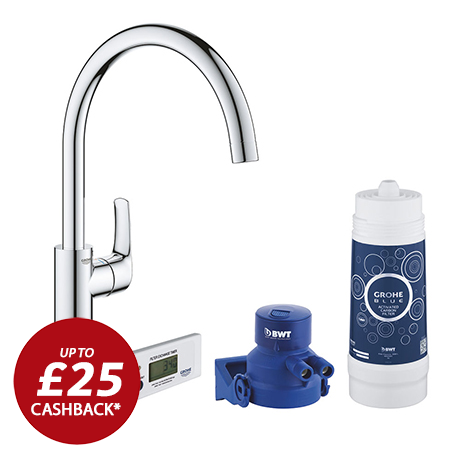 Grohe Blue Pure Duo Filtered Eurosmart Tap - 30383000