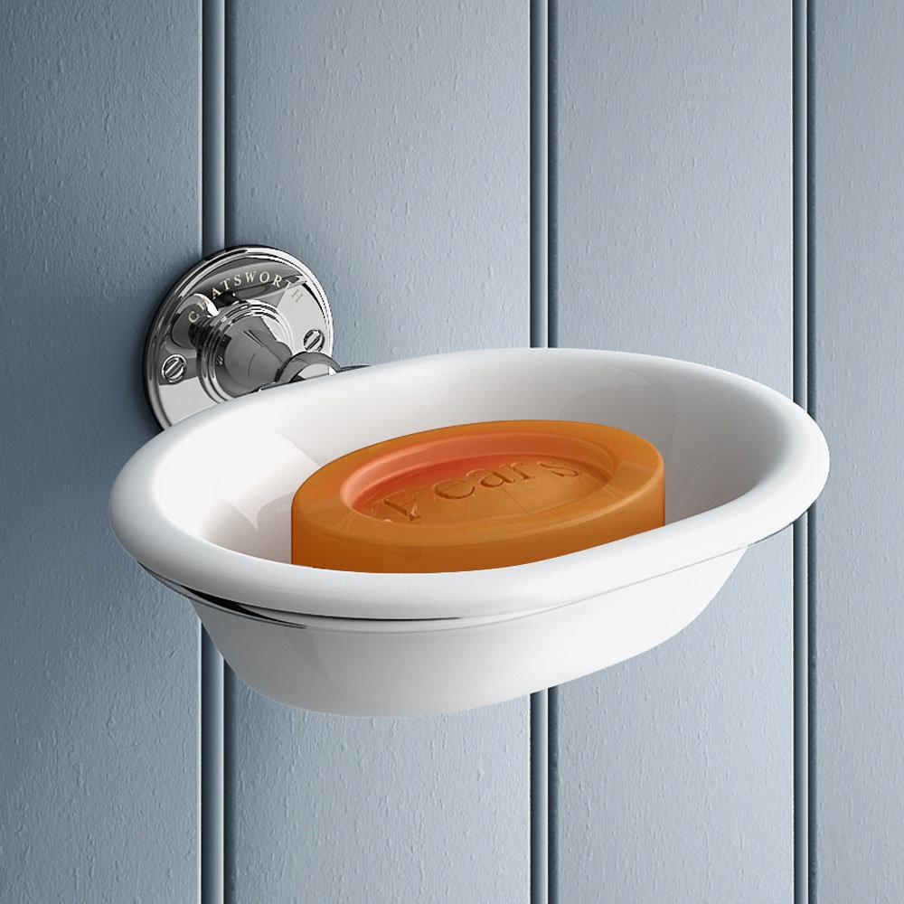 Chatsworth 1928 Traditional Soap Dish Holder