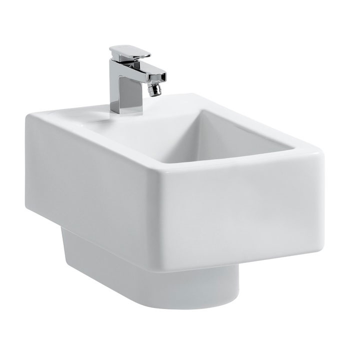 Laufen - Living City Wall Hung Bidet - 30432 profile large image view 1