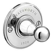 Chatsworth 1928 Traditional Robe Hook Medium Image