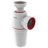 Wirquin Neo Zero Leak Bottle Trap 40mm profile small image view 1