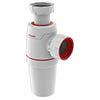 Wirquin Neo Zero Leak Bottle Trap 32mm profile small image view 1