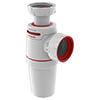 Wirquin Neo Air Zero Leak Bottle Trap 40mm profile small image view 1