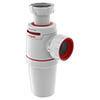 Wirquin Neo Air Zero Leak Bottle Trap 32mm profile small image view 1
