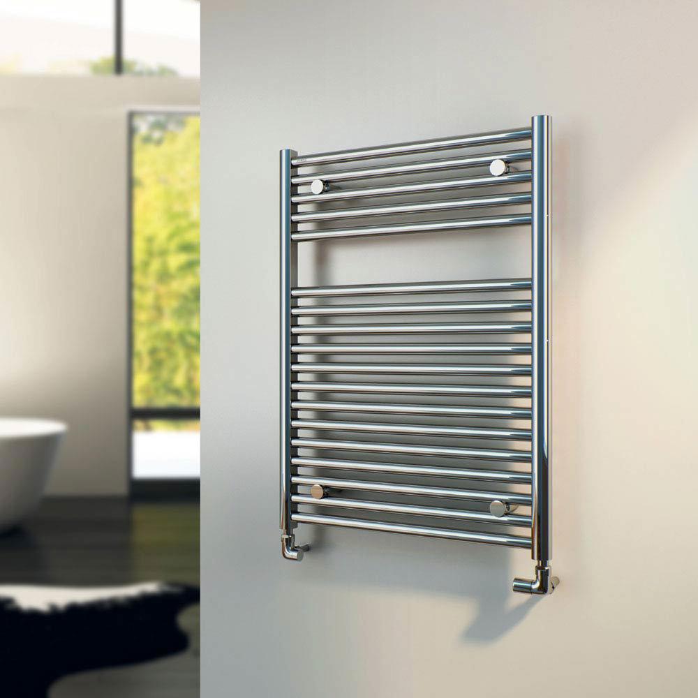 Tissino Hugo2 Towel Rail - Chrome profile large image view 2