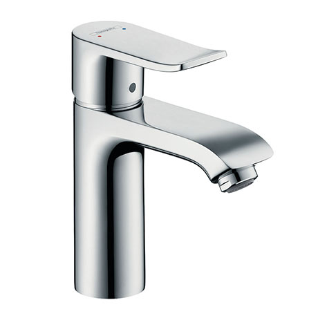 hansgrohe Metris Single Lever Basin Mixer 110 with Pop-up Waste - 31080000
