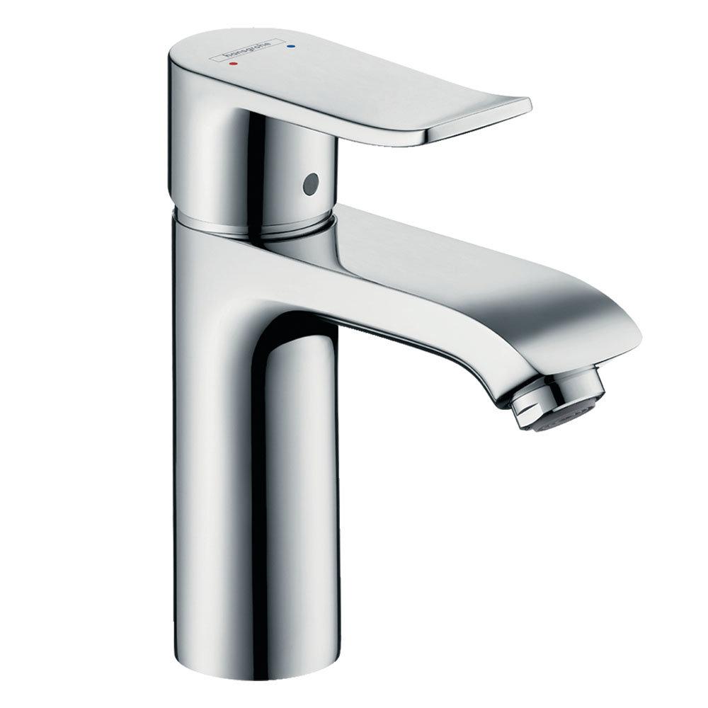 hansgrohe Metris Single Lever Basin Mixer 110 without Waste (min. 0.2 Bar) - 31084010