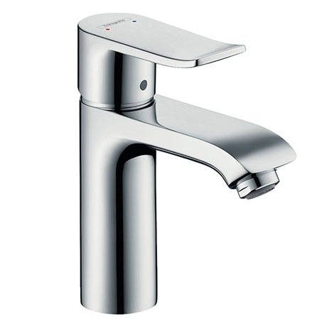 hansgrohe Metris Single Lever Basin Mixer 110 without Waste - 31084000