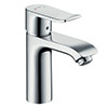 hansgrohe Metris Single Lever Basin Mixer 110 without Waste - 31084000 profile small image view 1