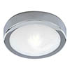 Searchlight Chrome Flush Fitting with Marble Glass - 3109CC profile small image view 1