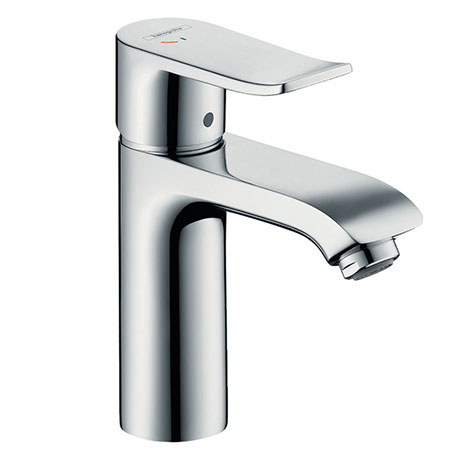 hansgrohe Metris Single Lever Basin Mixer 110 CoolStart with Pop-up Waste - 31121000