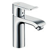hansgrohe Metris Single Lever Basin Mixer 110 CoolStart with Pop-up Waste - 31121000 profile small image view 1