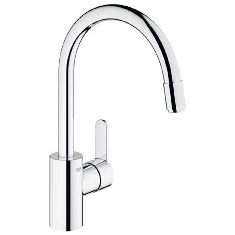 Grohe Eurostyle Cosmopolitan Kitchen Sink Mixer with Pull Out Spray - 31126002