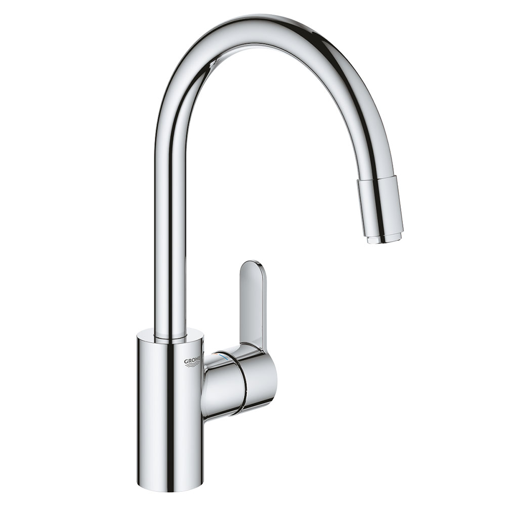 Grohe Eurostyle Cosmopolitan Kitchen Sink Mixer with Pull Out Spray - 31126004