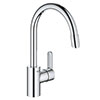 Grohe Eurostyle Cosmopolitan Kitchen Sink Mixer with Pull Out Spray - 31126004 profile small image view 1