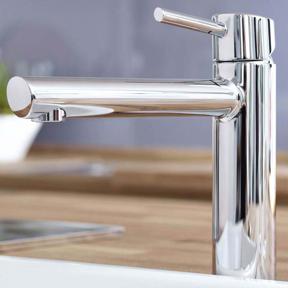 Grohe Concetto Kitchen Sink Mixer - Chrome - 31128001  Profile Large Image