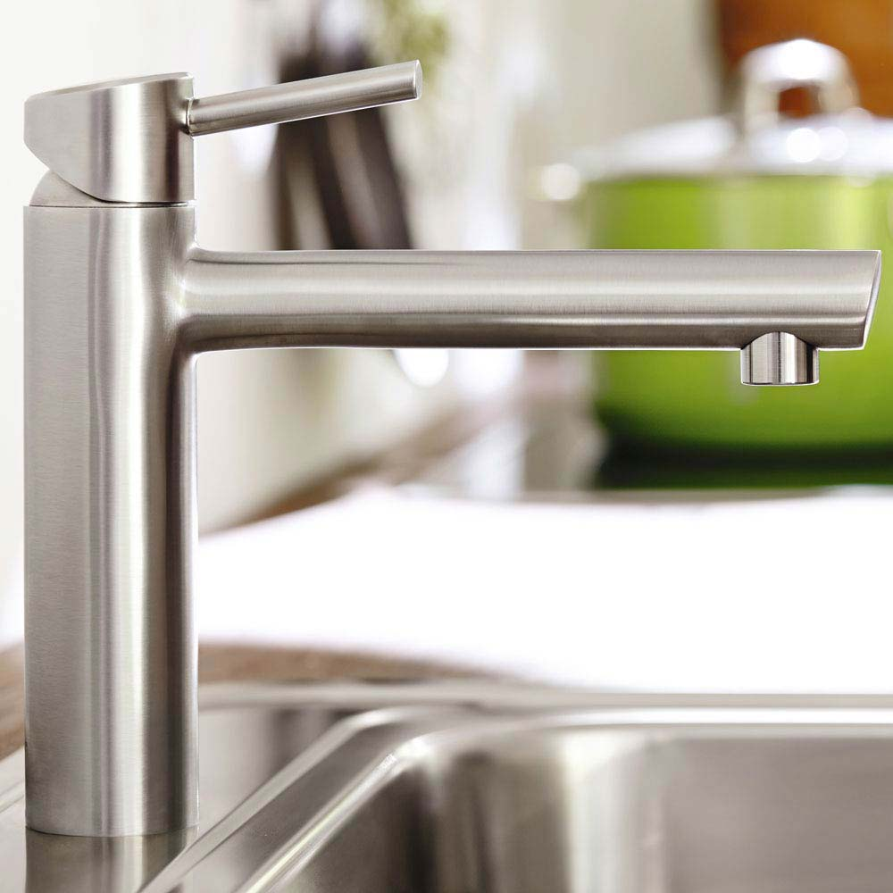 Grohe Concetto Kitchen Sink Mixer - SuperSteel - 31128DC1  Profile Large Image