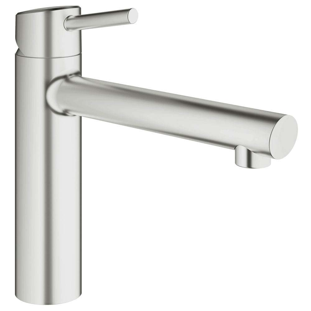 Grohe Concetto Kitchen Sink Mixer - SuperSteel - 31128DC1 Large Image