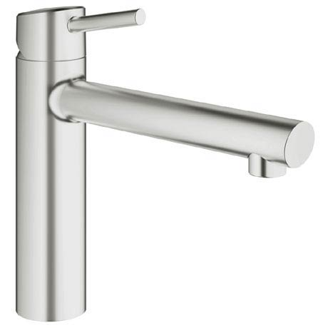 Grohe Concetto Kitchen Sink Mixer - SuperSteel - 31128DC1