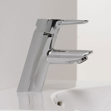 Laufen - Twin Pro Monobloc Basin Mixer with Pop-up Waste profile large image view 2
