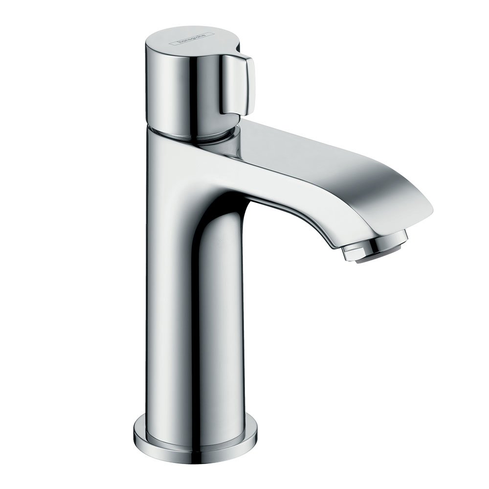 hansgrohe Metris Pillar Tap 100 for Cold Water without Waste - 31166000