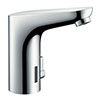 hansgrohe Focus Battery-Operated Electronic Basin Mixer with Temperature Control - 31171000 profile small image view 1