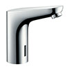 hansgrohe Focus Mains-Operated Electronic Basin Mixer with Temperature Pre-Adjustment - 31174000 profile small image view 1