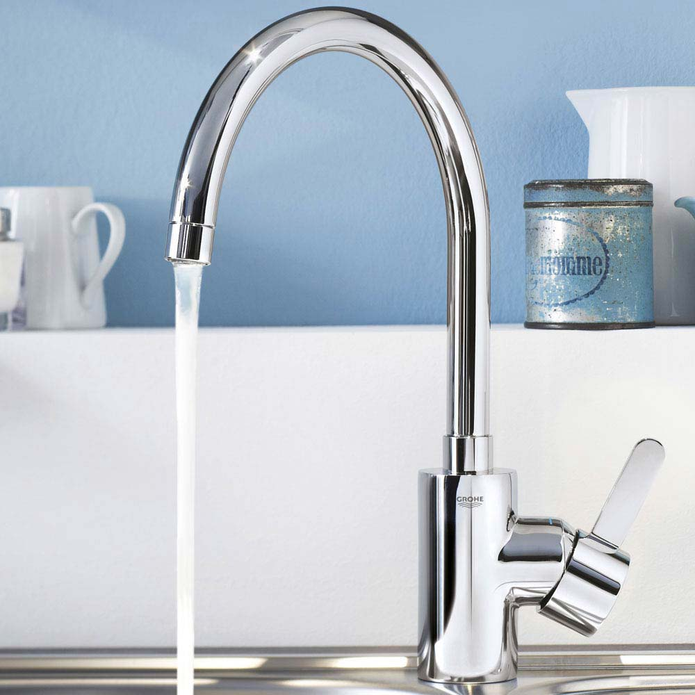 Grohe Eurosmart Cosmopolitan Kitchen Sink Mixer - 31180000 profile large image view 2