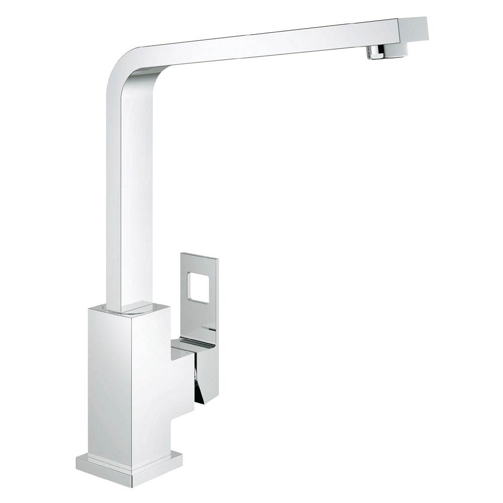 Grohe Eurocube Kitchen Sink Mixer - 31255000 profile large image view 1