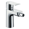 hansgrohe Metris Single Lever Bidet Mixer with Pop-up Waste - 31280000 profile small image view 1