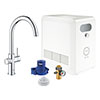 Grohe Blue Professional Duo Starter Kit C-Spout - Chrome - 31323002 profile small image view 1